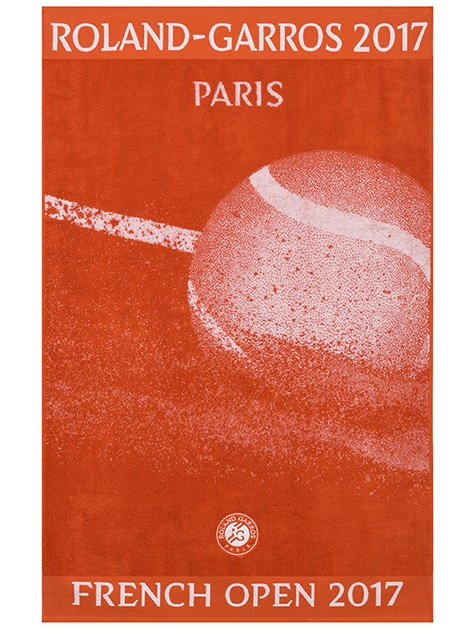 Typographies Roland-Garros en usage. Photo : Roland-Garros